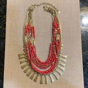 Stella & Dot Bliss Statement Necklace - Gold